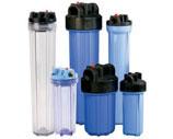 Магистральные проточные фильтры картриджного типа